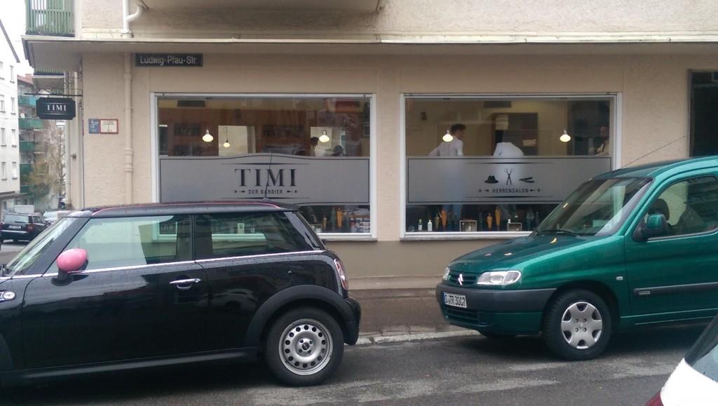 TIMI Der Barbier Außen